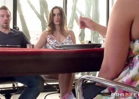 Ashley Adams & Erik Everhard in Setting the Table - Brazzers