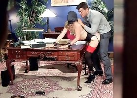 18 year old Submissive Secretary Takes Her Sexual Punishment