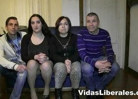Incredible group sex with Bruno y Maria will make you horny