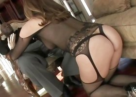 Elegant Milf Kneels For A Bbc