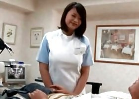 Asian doctor seduced into hot sex by horny patient Video 3