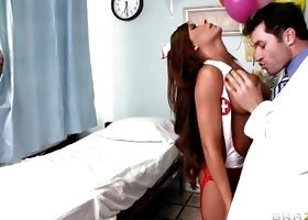 Hot Nurse Sucks A Big Dick