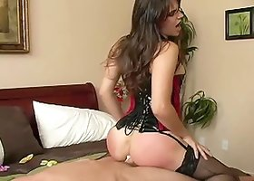 Bobbi Starr enjoys Jordan Ash's hard dick in her amazing ass