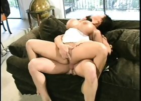 Ava Devine's massive titties bounce around as she gets used like a toy