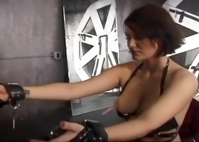 Readhaed Is Taught A Lesson By Brunette Anastasia