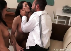 Hairy porn video featuring Kendra Lust and Gracie Glam