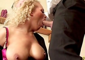 Naughty Rebecca Smyth bends over for an amazing anal shag