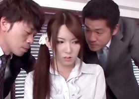 Yui Hatano sexy Japanese teacher hot fucking here
