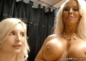Blonde porn video featuring Piper Perri and Alura Jenson
